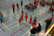11. Volksbank Cup, Hallenturnier für G1-Junioren