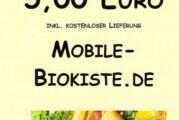 Mobile Biokiste – immer frisches Obst und Gemüse *5 Euro Gutschein*