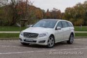 Der ausgestorbene weiße Riese – Mercedes R-Klasse