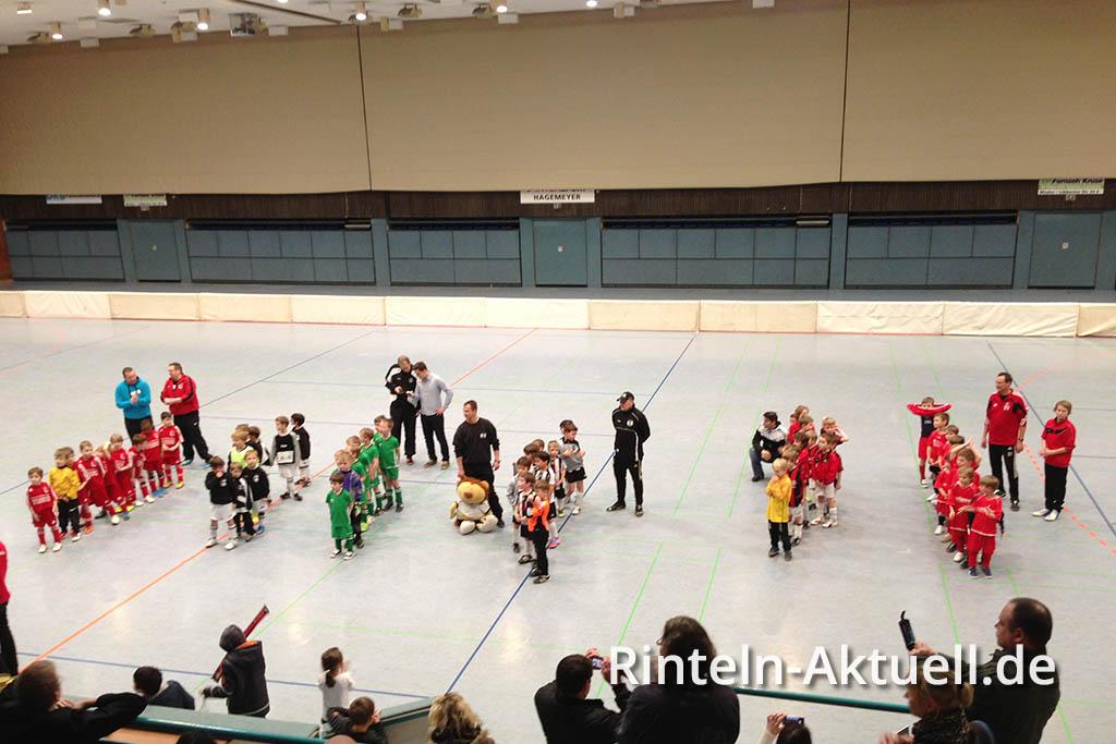 Der SC Rinteln erreichte beim Weserspucker Turnier den 4. Platz