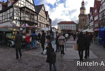6. Brennholzmarkt in Rinteln vom 02.-03. Februar 2013
