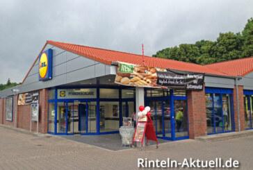 LIDL Wiedereröffnung in der Bahnhofsallee 5 in Rinteln