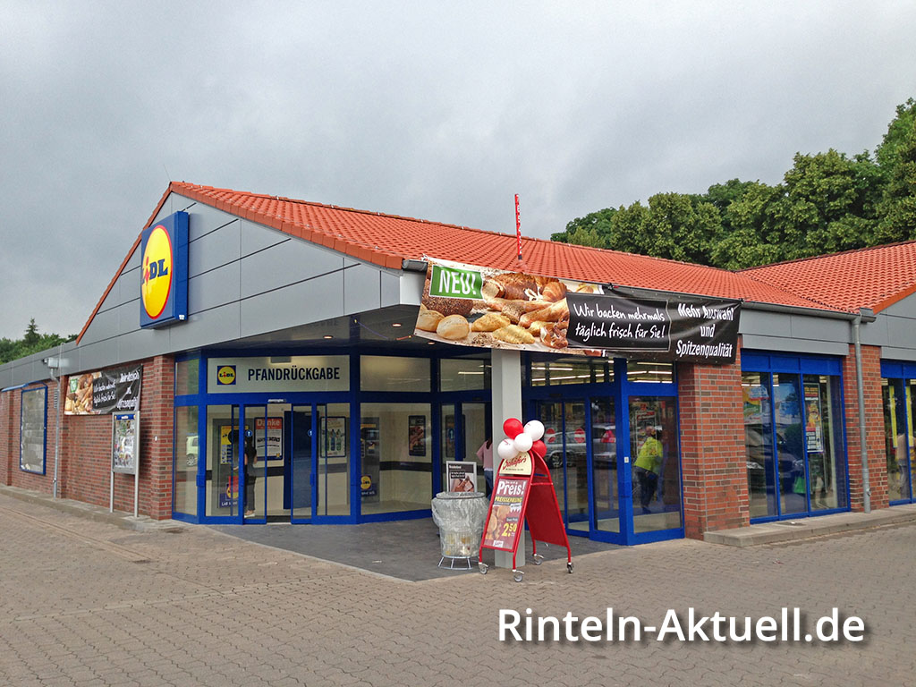 lidl wiederer ffnung in der bahnhofsallee 5 in rinteln. Black Bedroom Furniture Sets. Home Design Ideas
