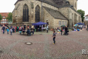 Ferienspaß: Flohmarkt an der St. Nikolai-Kirche am 27.06.2013