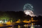 Feuerwerk in lauer Sommernacht – Doktorsee in Flammen
