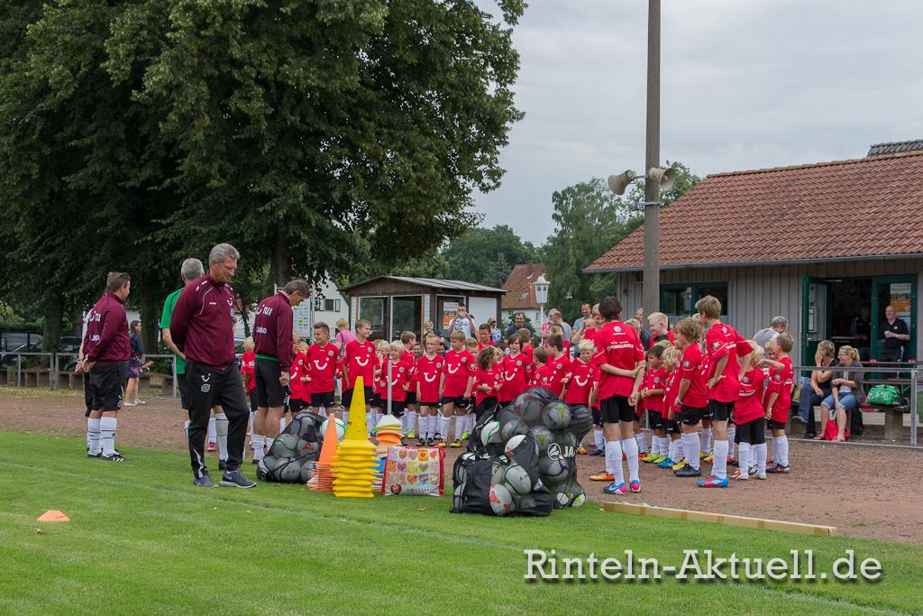 Die Hannover 96 Fußballschule war sehr gut besucht.