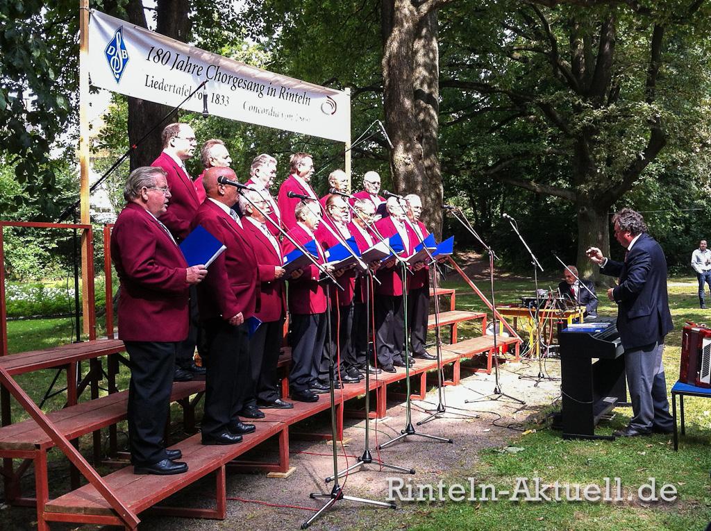07 rinteln aktuell blumenwallfest rosengarten chor gesangverein singen musik