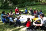 Jubiläum beim Waldkindergarten am 24.08.2013