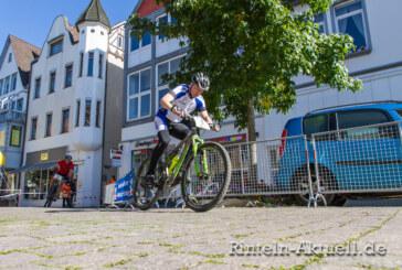 Stüken-Wesergold Mountainbike-Cup: Halteverbot im Bereich der Rintelner Innenstadt-Strecke