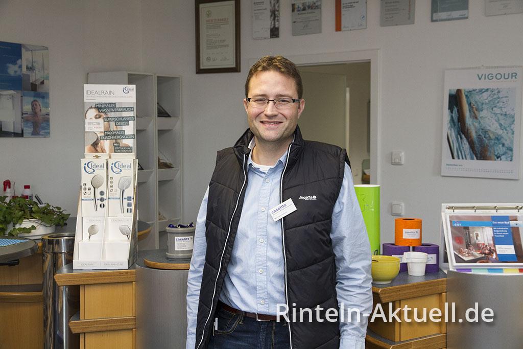 Matthias Caselitz bietet seinen Kunden einen Rundum-Service in den Bereichen Heizung und Sanitär.
