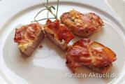 Schweinefilet-Nuggets mit Feta und Prosciutto