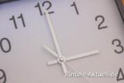 Wer hat an der Uhr gedreht? Aus 2:00 Uhr wird morgen 3:00 Uhr
