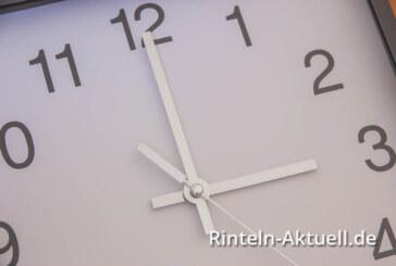 Dran denken: Uhrzeitumstellung steht kurz bevor
