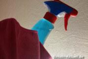 Spart Geld und vereinfacht die Reinigung: Glasreiniger und Mikrofaser im Team