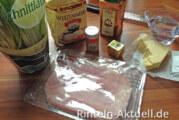 Das Käse-Schinken-Schnittlauch Brot
