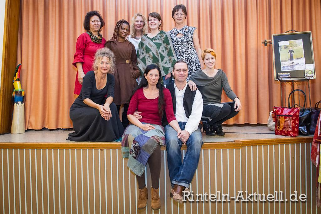 Von links, hinten: Jilla, Kansie, Andrea, Christina, Barbara. Von links, vorne: Gabi, Katrin, Thomas, Michelle