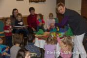 Kinderkirche Schäfchenland mit Weihnachtsgeschichte am 15.12.13