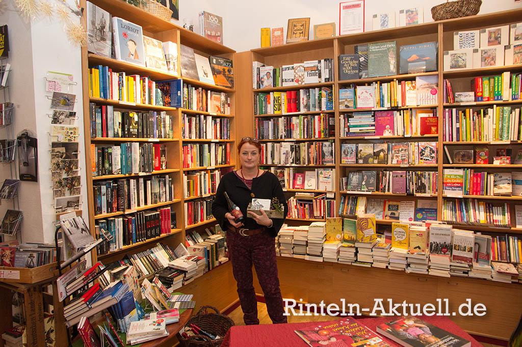 """Uta Fahrenkamp leitet """"Buch & Wein"""" seit fünf Jahren."""