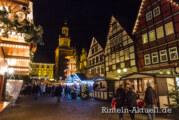 Stimmung auch ohne Schnee: Rintelner Adventszauber 2013 startet