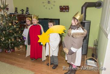 Caspar, Melchior und Balthasar unterwegs: Die Sternsinger in Rinteln