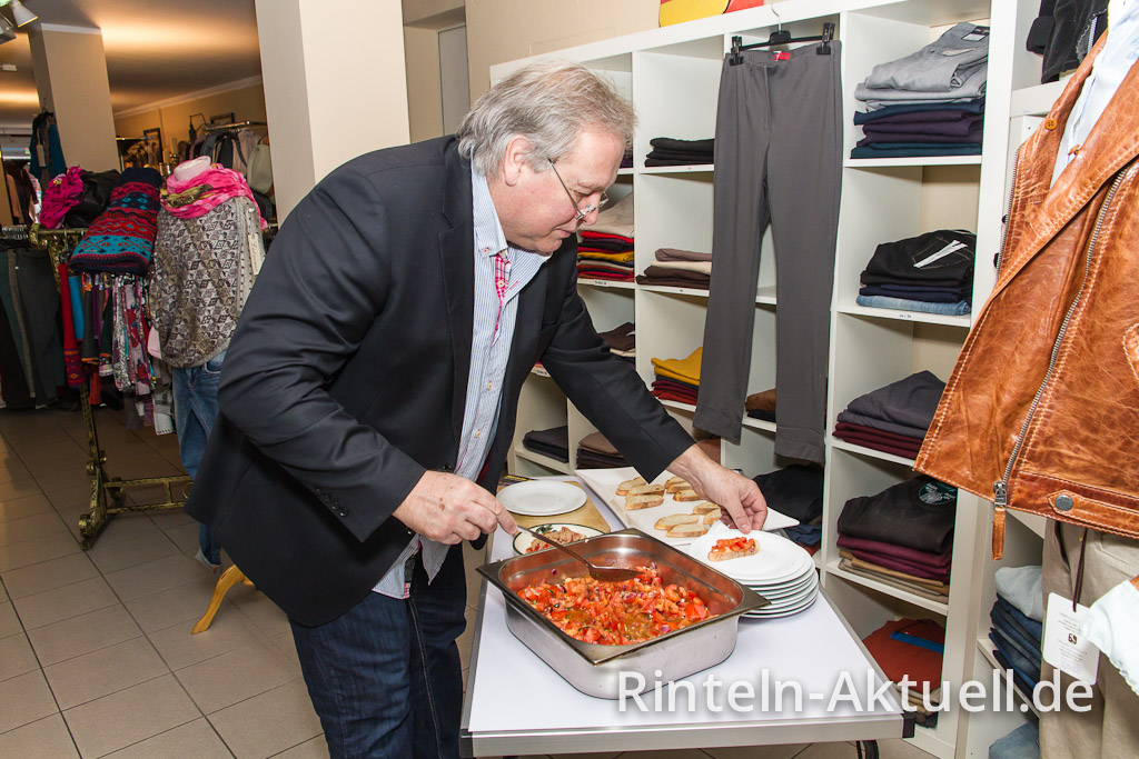 "Bruschetta verwöhnte den Shopping-Gaumen bei ""Jenny´s"""