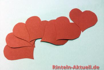 """""""Küsschen"""" für die Kunden und Geschenkideen zu Valentinstag"""