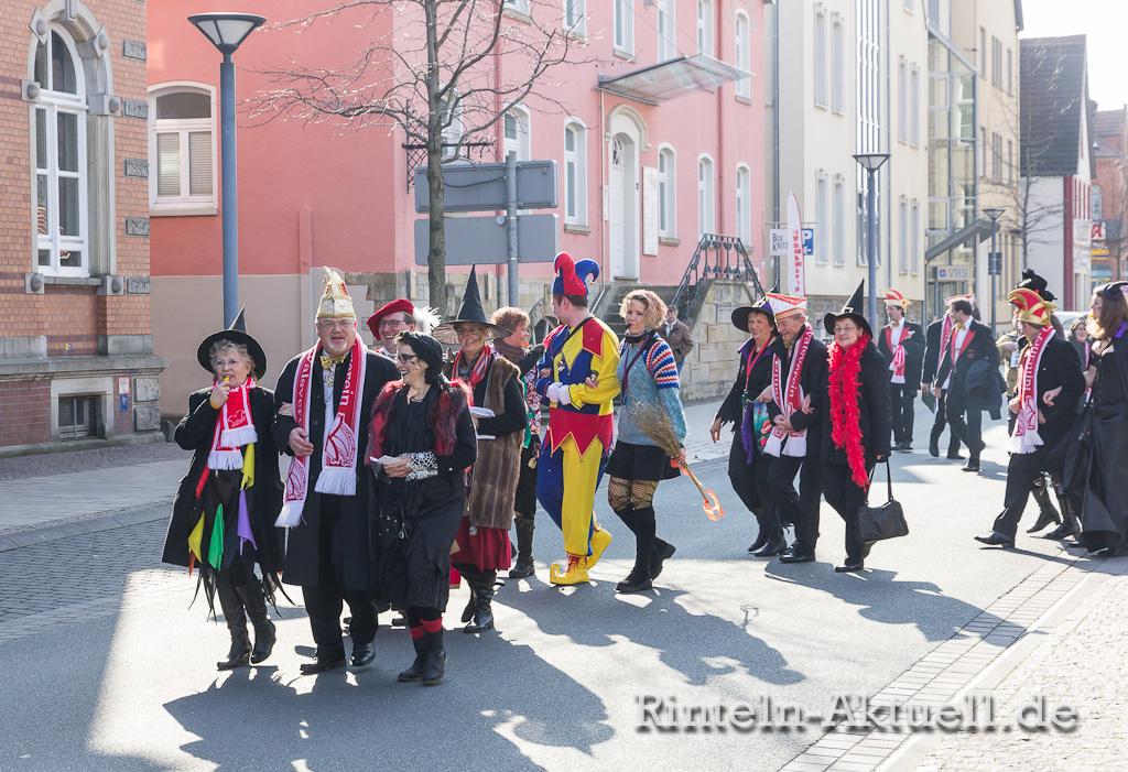18 rinteln karneval rathaus hexen schluessel buergermeister