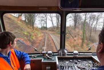 Der Schienenbus ist auch morgen wieder unterwegs
