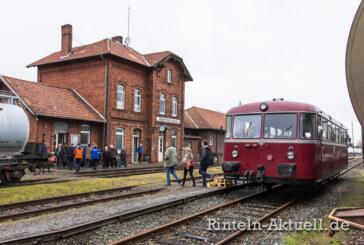 Der historische Schienenbus startet in die sechste Saison