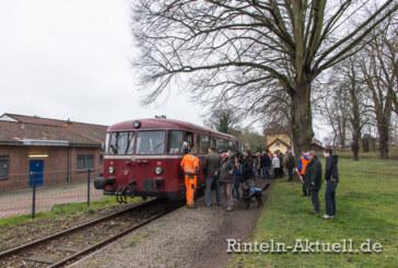 """Der """"Bus auf Schienen"""" ist am kommenden Sonntag wieder auf Achse"""
