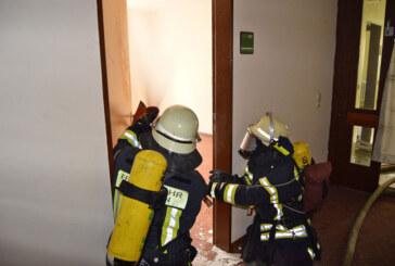 Im Ernstfall gibt es keine zweite Chance: Training für Atemschutzgeräteträger der Ortsfeuerwehr Rinteln