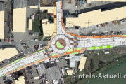 Zehn Tage Einbahnstraße: Geänderte Verkehrsführung an Rintelns Kreiselbaustelle kommt