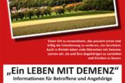 Ein Leben mit Demenz: Informationsveranstaltung in Rinteln