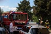"""Privates """"Osterfeuer"""" sorgt für Feuerwehr- und Polizeieinsatz in der Nordstadt"""