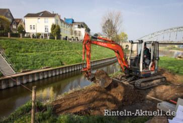 Rintelns neue Brücke am alten Hafen