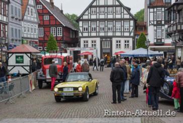 Oldies sind Goldies: So war die 18. Rintelner Oldtimer Weserberglandfahrt am 27.04.2014