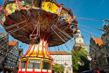 Wunderschöner Altstadt-Jahrmarkt im Weserbergland: Rintelner Messe vom 01.-05.05.2014