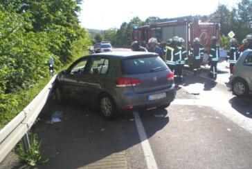 Doppelter Einsatz für die Feuerwehr: Zwei Unfälle an einem Nachmittag auf der B238