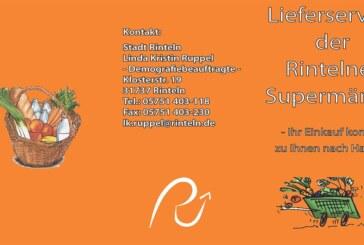 """Neue Auflage der Broschüre """"Lieferservice in der Stadt Rinteln"""""""