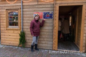 Alle Jahre wieder: Das kleine Mehrgenerationenhäuschen auf dem Rintelner Weihnachtsmarkt