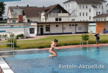 Rintelner Freibad eröffnet Saison 2014
