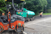 Weserangerparkplatz: Teile der Fahrbahndecke erneuert