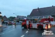 Brandalarm in Exten: Mann springt aus Fenster und verletzt sich