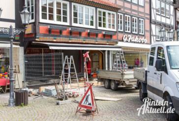 Der 50er Jahre Look muss gehen: Neues Aussehen für Café Sinke