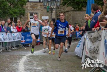 Rennen auch bei Regen: Rekordverdächtig viele Teilnehmer beim 14. Rintelner Volksbanklauf