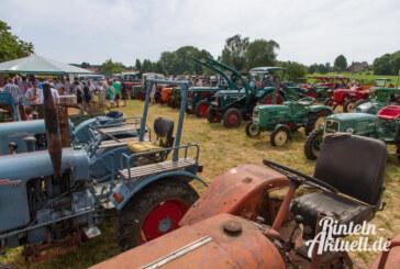 Alt-Traktoren-Treffen in Friedrichshöhe am 08.06.2014