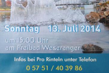 """Big Jump 2014"" in Rinteln: Sag JA zum Fluss"