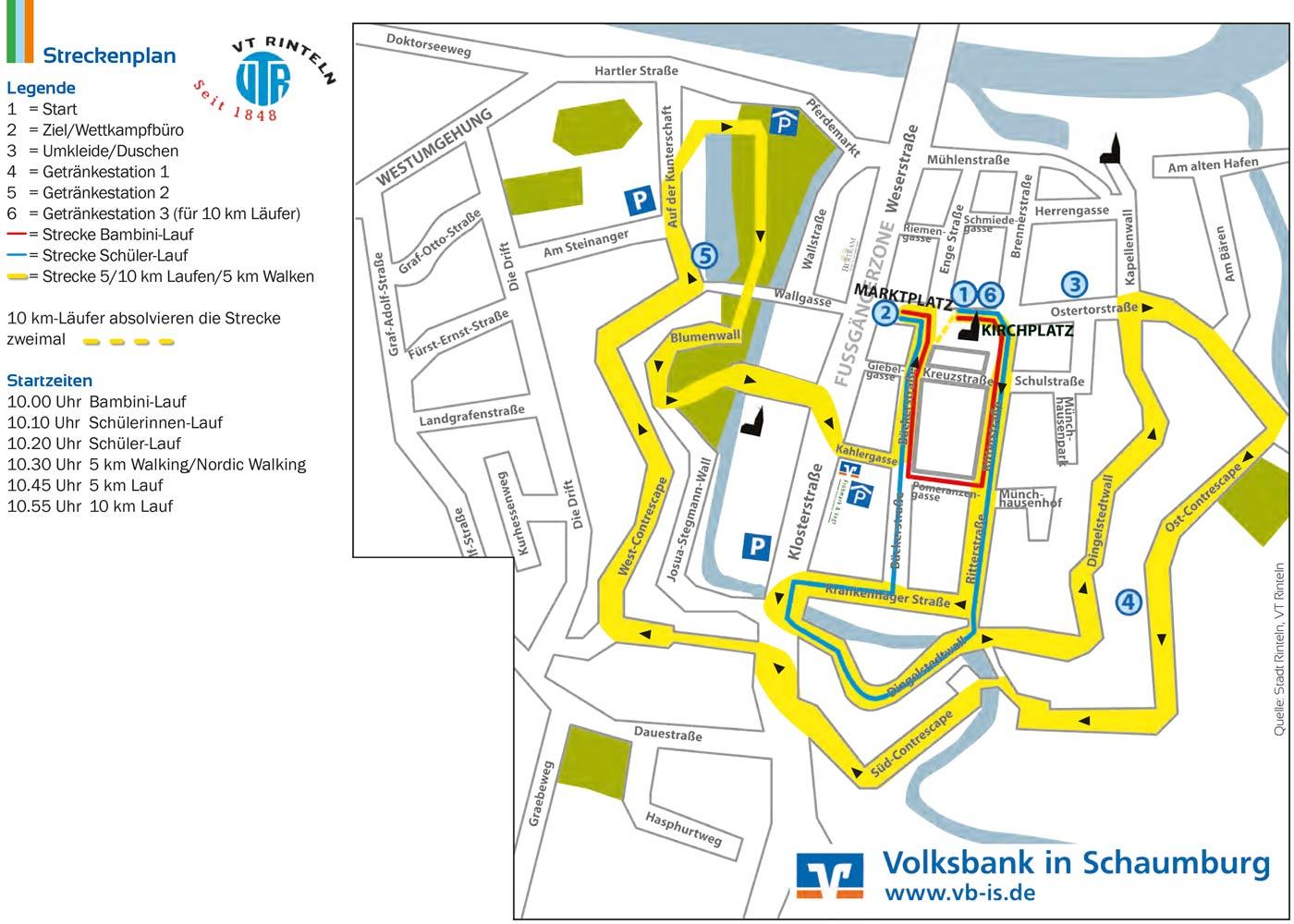 vtr-volksbanklauf-rinteln-Streckenplan-22062014