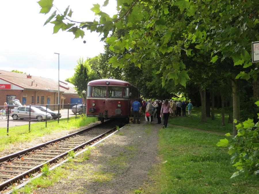 Am 20. Juli ist der Schienenbus wieder auf Achse. (Foto: Burkhard Rohrsen)