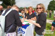 Wasserspiele in der Weser: Big Jump 2014 in Rinteln